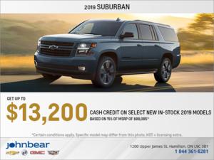 Get the 2019 Chevrolet Suburban