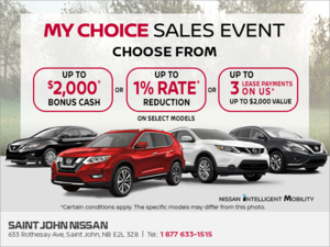 My Choice Sales Event!