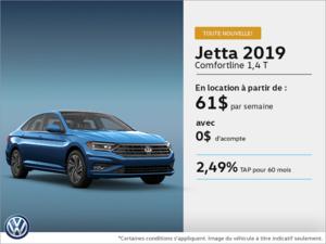 Louez la toute nouvelle Jetta 2019!