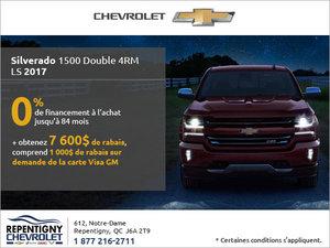 Le Chevrolet Silverado 2017 en rabais!