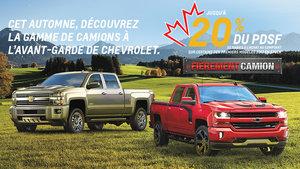 Programme 20% Chevrolet 2017