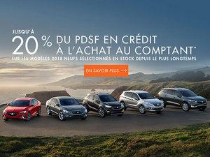 Buick programme Juillet