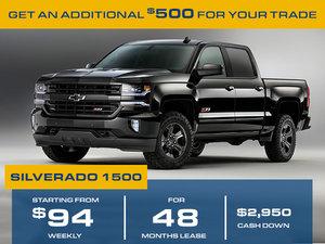 Promotion July Silverado 1500 2018