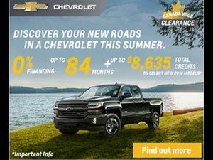 Promotion September Chevrolet 2018