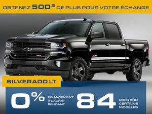 Promotion Silverado 1500 Août 2018