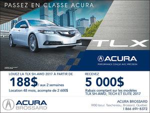 Acura TLX 2017 en location