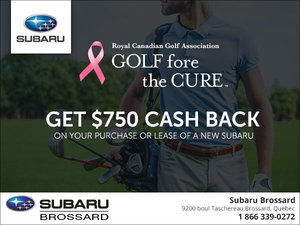 Golf for the Cure Rebate