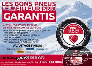 L'avantage pneus d'hiver de Nissan