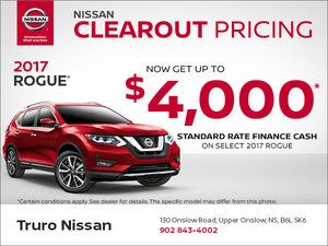 Save on the 2017 Rogue Today!