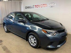2015 Toyota Corolla A/C + Groupe Électrique
