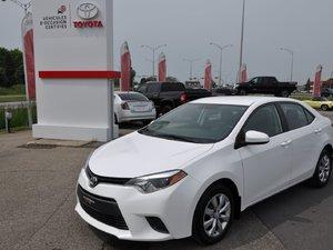 Toyota Corolla LE SIÈGES CHAUFFANT,CAMÉRA DE RECUL 2016