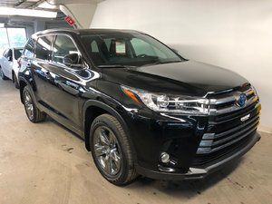 2017 Toyota Highlander hybrid Limited + Garantie PEA