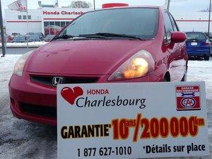 Honda Fit LX À PARTIR DE 45.22$ PAR SEMAINE 36 MOIS ! WOW!! 2007 GARANTIE 10 ANS 200,000KM