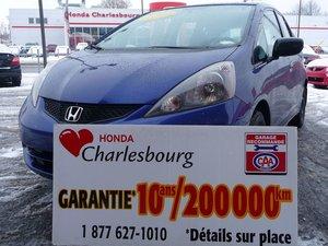 Honda Fit DX GARANTIE 10 ANS 200,000KM 2009 À PARTIR DE 32.38$ PAR SEMAINE!*