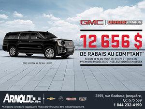 Obtenez le GMC Yukon XL 2017!