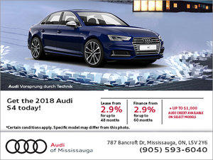 Get the 2018 S4 today!