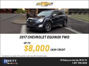 Big Savings on the 2017 Chevrolet Equinox!