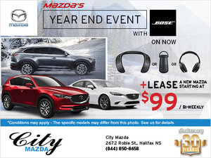 City Mazda's Monthly Sales Event!