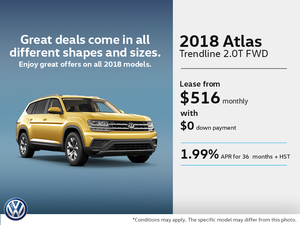 Lease the 2018 Atlas
