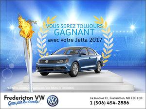 Toujours gagnant avec la Jetta 2017