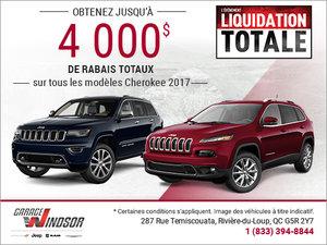 L'événement Liquidation Totale - Jeep