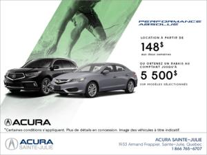 L'événement mensuel d'Acura