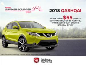 Lease the 2018 Nissan Qashqai!