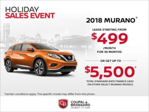 2018 Nissan Murano!