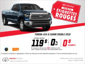 Le Toyota Tundra 2018