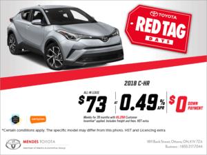 Toyota's 2018 CH-R!