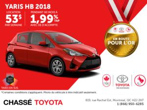 Toyota Yaris HB 2018