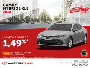 Toyota Camry Hybride 2018