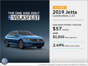 Get the all new 2019 Jetta !