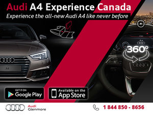 Experience the Brand New Audi A4 App!
