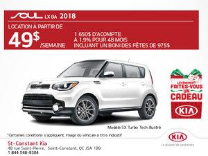 Achetez la Kia Soul 2018