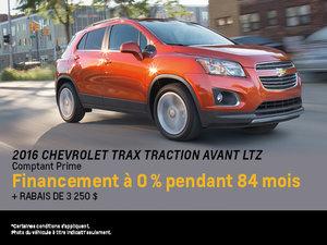 Procurez-vous le Chevrolet Trax 2016