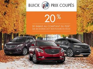 Programme 20% Buick 2017