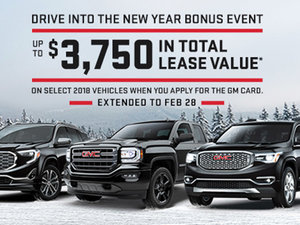 Promotion GMC February 2018