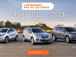 Promotion Buick Juin 2018
