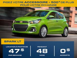 Location à partir de 47$ par semaine Chevrolet Spark