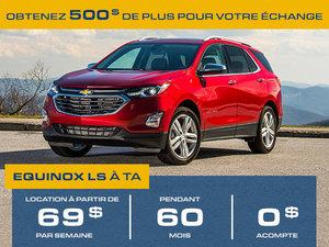 Promotion Juillet Chevrolet Equinox 2018