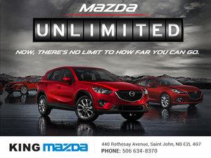 Mazda's Unlimited Mileage Warranty at King Mazda!