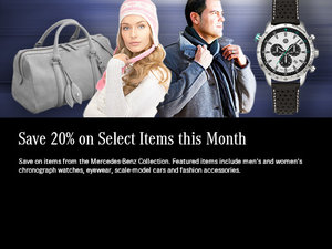Save 20% on Select Items this Month