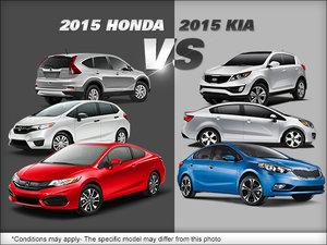 Honda vs. Kia