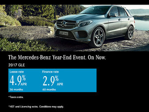 Save on the 2017 Mercedes-Benz GLE