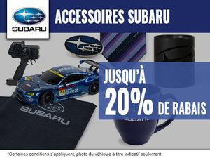 Rabais sur les accessoires Subaru