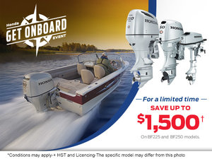 Honda's Get Onboard Sales Event!