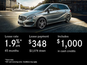 Save Big on the 2017 Mercedes-Benz B-Class 250 Today