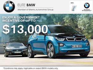 Save Big on the BMW i-series