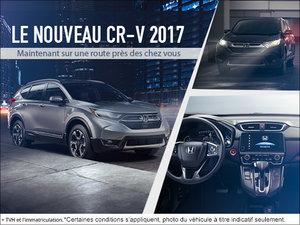 Le tout nouveau CR-V 2017!